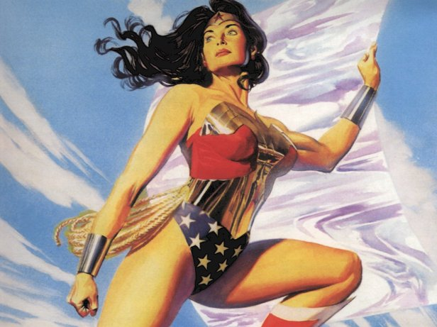 Wonder Woman Love Strong Capes Spandex